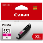 Canon 6445B001 (CLI-551 MXL) Ink cartridge magenta, 680 pages, 11ml