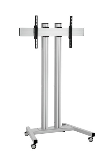"Vogel's TD1884 165.1 cm (65"") Portable flat panel floor stand Silver"