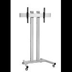 "Vogel's TD1884 165.1 cm (65"") Portable flat panel floor stand Silver"