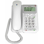 British Telecom Decor 2200 Analog telephone White Caller ID