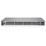 Hewlett Packard Enterprise 2920-48G-PoE+ Managed L3 Gigabit Ethernet (10/100/1000) Power over Ethernet (PoE) Rack (1U) Grey