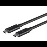"Monoprice 24724 Thunderbolt cable 78.7"" (2 m) Black 20 Gbit/s"