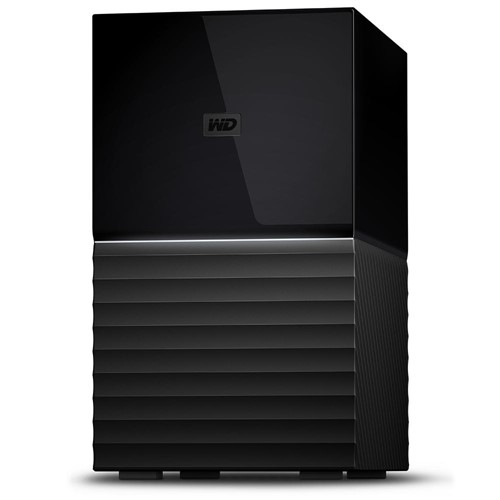 Western Digital My Book Duo disk array 16 TB Desktop Black