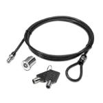 HP AU656AA Black cable lock