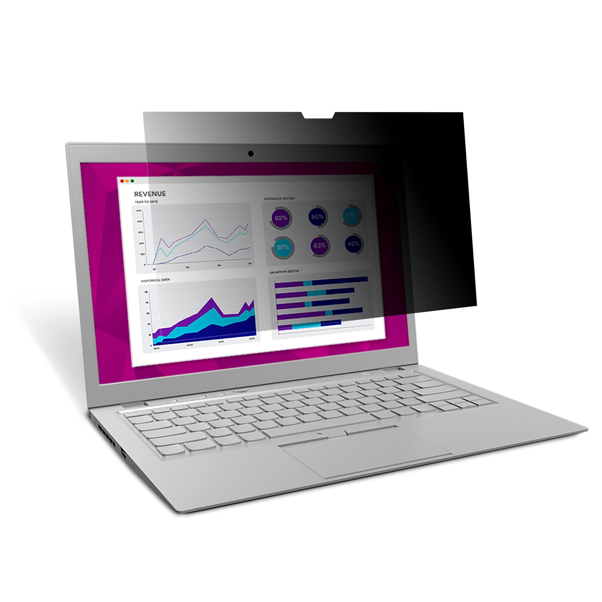 High Clarity Privacy Filter For Microsoft Surface Pro 5
