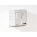 SMJ E62G2B-N 2 White electrical switch