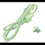 2-Power PWR0001W-EU power cable White Power plug type C