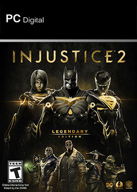 Nexway Injustice 2 - Legendary Edition vídeo juego PC Español