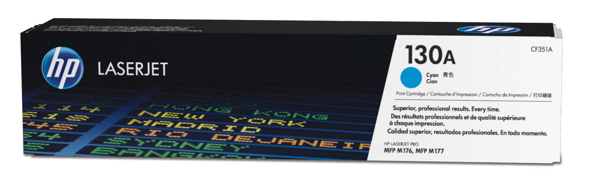 HP 130A Origineel Cyaan 1 stuk(s)