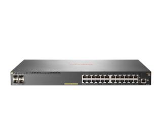 HP Aruba 2540 24G PoE+ 4SFP+ Managed network switch L2 Gigabit Ethernet (10/100/1000) Power over Ethernet (PoE) 1U Grey
