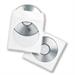 Fellowes 90690 optical disc case Sleeve case 1 discs Transparent,White