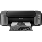 Canon PIXMA PRO-10S Inkjet 4800 x 2400DPI Wi-Fi Black,Grey photo printer