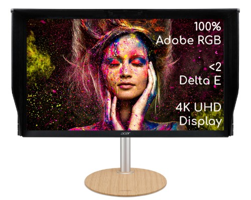 Acer ConceptD CP3271KP 4K UHD 144Hz 1ms professional monitor for creators