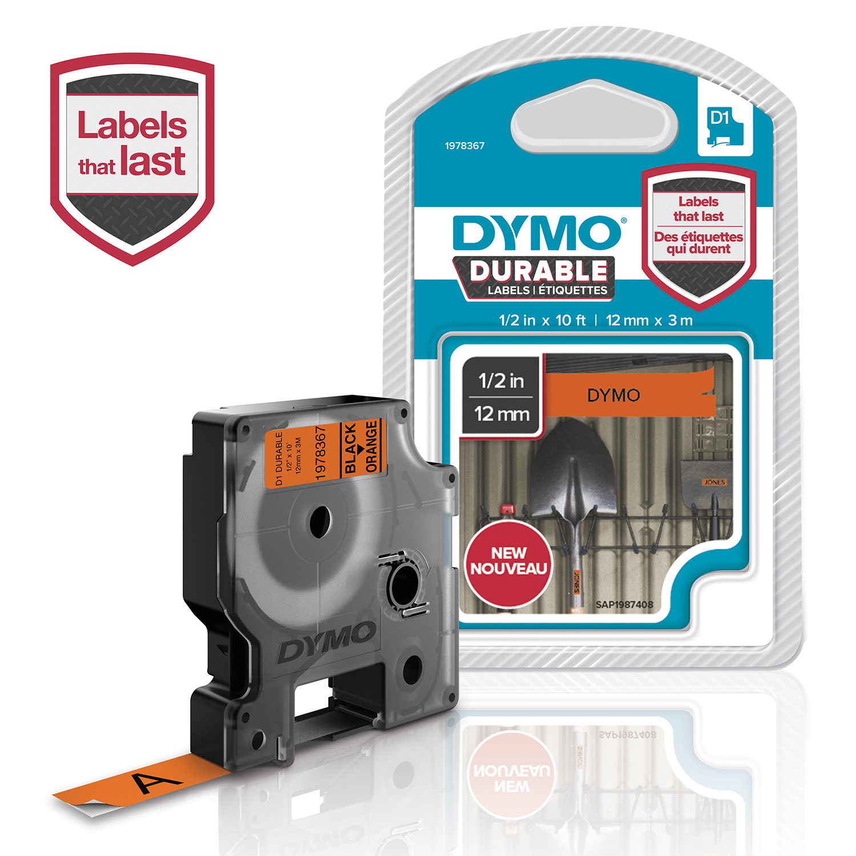DYMO 1978367 DirectLabel-etikettes, 12mm x 5,5mm