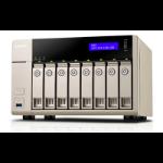 QNAP TVS-863 NAS Tower Ethernet LAN Gold