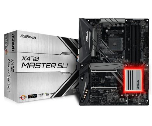 Asrock X470 Master SLI motherboard Socket AM4 ATX AMD X470