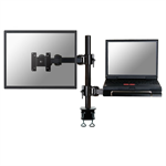 "Newstar FPMA-D960NOTEBOOK 27"" Black flat panel desk mount"