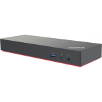 Lenovo 40AN0230EU notebook dock/port replicator Thunderbolt 3 Black