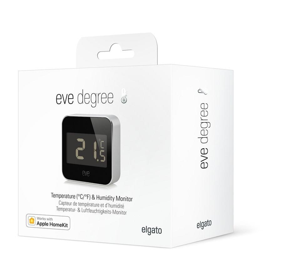 Elgato Eve Degree Indoor/Outdoor Temperature & humidity sensor Freestanding Wireless