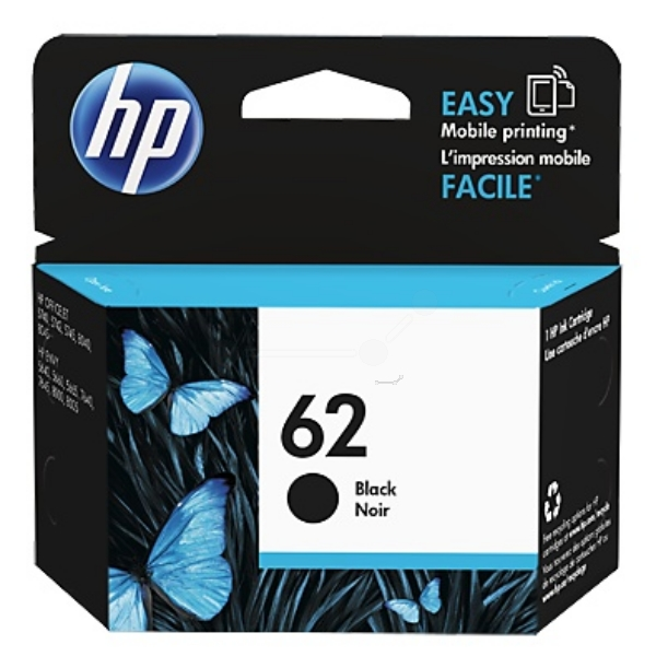 HP C2P04AE (62) Printhead black, 200 pages