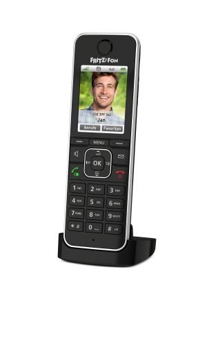 AVM 20002964 FRITZ!Fon C6 Black DECT telephone Caller ID