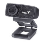 Genius FaceCam 1000X 1MP 1280 x 720pixels USB 2.0 Black webcam