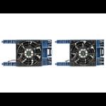 Hewlett Packard Enterprise HPE ML30 Gen9 Front PCI Fan Kit Computer case Black, Blue