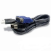 Belkin F1D9015B10 keyboard video mouse (KVM) cable