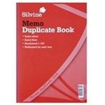 Silvine DUP BOOK A4 MEMO 614-T