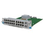 Hewlett Packard Enterprise 5930 24-port 10GBase-T + 2-port QSFP+ with MacSec network switch module 10 Gigabit