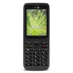 "Doro 5516 2.4"" 91g Black Senior phone"