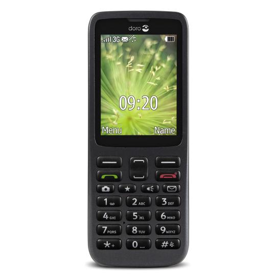 "Doro 5516 2.4"" 91g Black Senior phone"