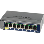 Netgear GS108T-200 Managed L3 Black