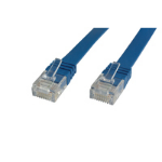 Microconnect V-UTP601B-FLAT 1m Blue networking cable