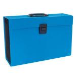 Rexel JOY Expanding Box File Blissful Blue