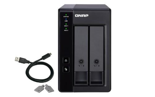 QNAP TR-002/8TB-RED storage drive enclosure 2.5/3.5