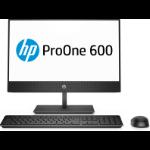 """HP ProOne 600 G4 54.6 cm (21.5"""") 1920 x 1080 pixels 8th gen Intel® Core™ i3 8 GB DDR4-SDRAM 256 GB SSD Windows 10 Pro Wi-Fi 5 (802.11ac) All-in-One PC Black"""
