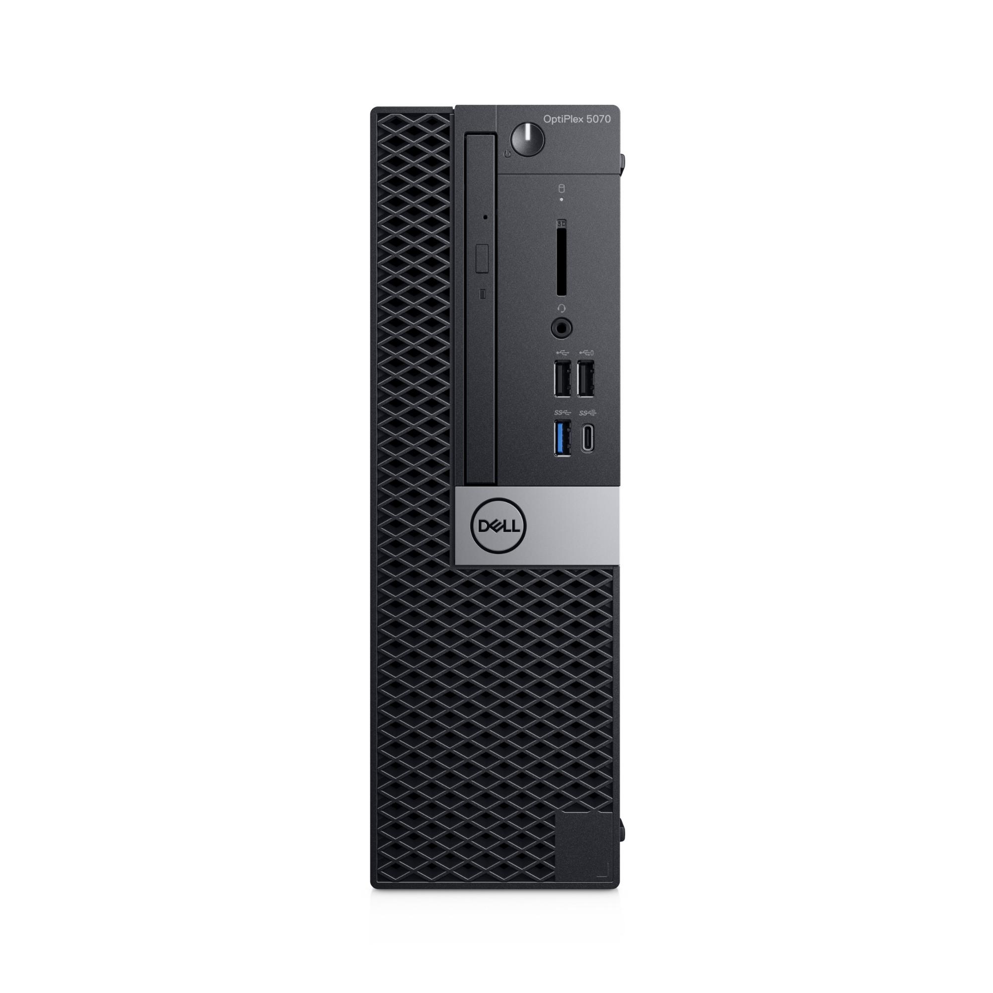 DELL OptiPlex 5070 9th gen Intel® Core™ i5 i5-9500 8 GB DDR4-SDRAM 256 GB SSD SFF Black PC Windows 10 Pro
