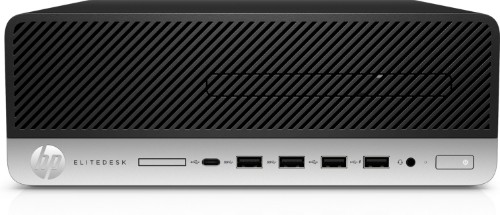 HP EliteDesk 705 G4 3.2 GHz AMD Ryzen 7 Black,Silver SFF PC