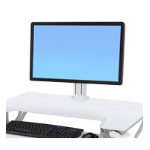 Ergotron WorkFit White Holder multimedia cart accessory