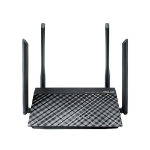 ASUS RT-AC1200G+ wired router Ethernet LAN Black