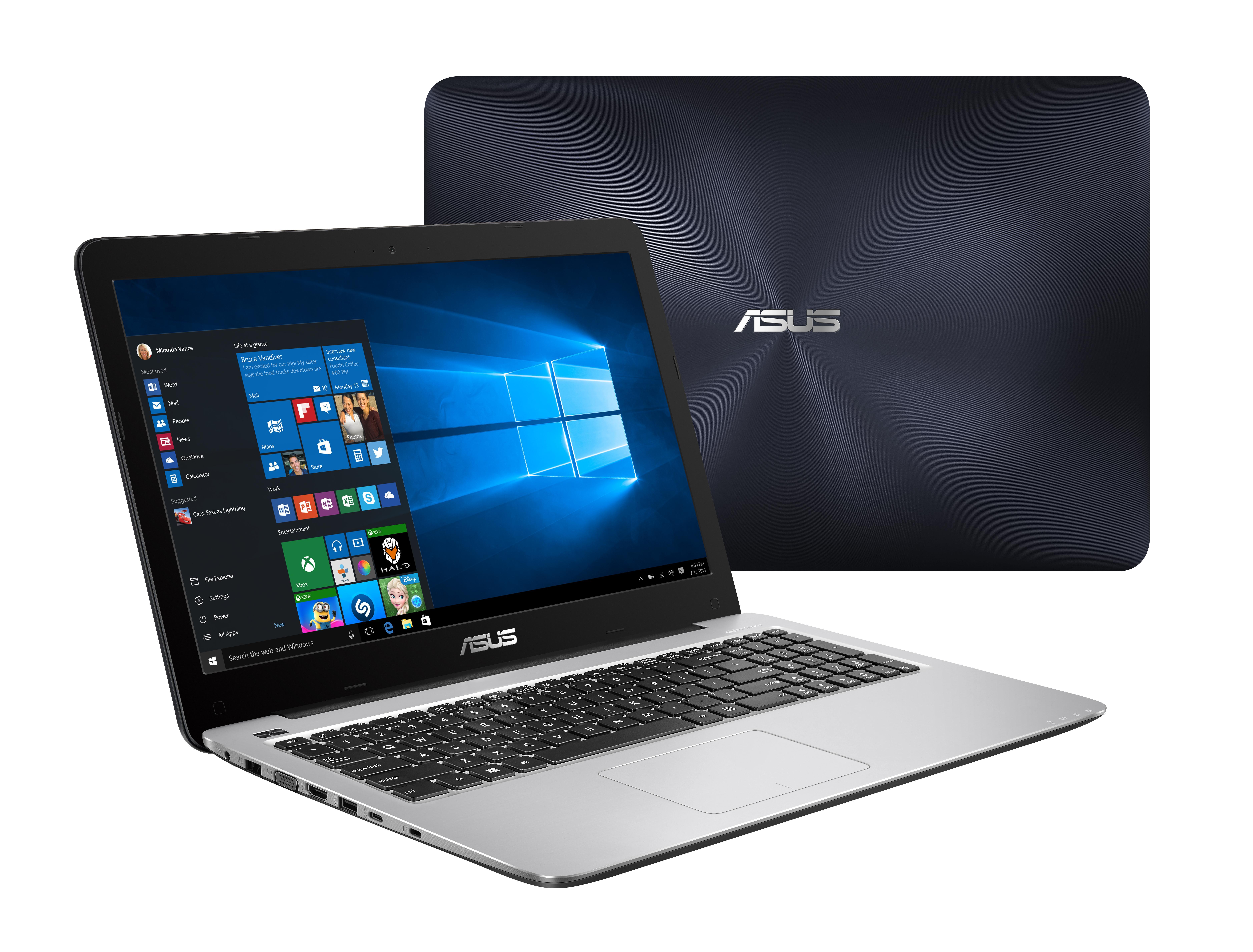 "ASUS VivoBook X556UB-DM262T 2.3GHz i3-6100U 15.6"" Blue,Silver"
