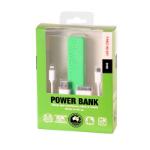 Laser PB-2200P-GRN 2200mAh Green power bank