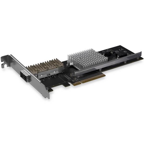 StarTech.com Tarjeta de Red QSFP+ para Servidores - PCI Express - con Chipset Intel XL710
