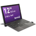 "Wortmann AG TERRA PAD 1270 Black Hybrid (2-in-1) 30.5 cm (12"") 2160 x 1440 pixels Touchscreen 1.00 GHz Intel® Core™ M m3-7Y30"