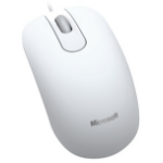 Microsoft Optical Mouse 200 for Business USB Optical 1000DPI Ambidextrous White mice