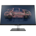 "HP Z27n G2 LED display 68.6 cm (27"") 2560 x 1440 pixels Quad HD Flat Silver"