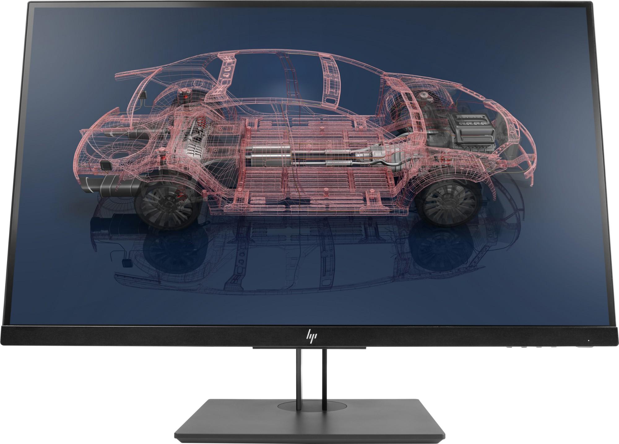 "HP Z27n G2 LED display 68.6 cm (27"") 2560 x 1440 pixels Quad HD Flat Silver"