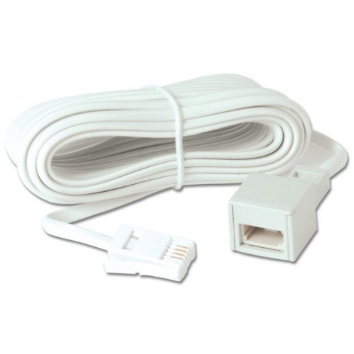 Lindy 35066 telephony cable 10 m White