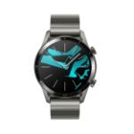 "Huawei WATCH GT 2 smartwatch AMOLED 3.53 cm (1.39"") Gray, Titanium GPS (satellite)"